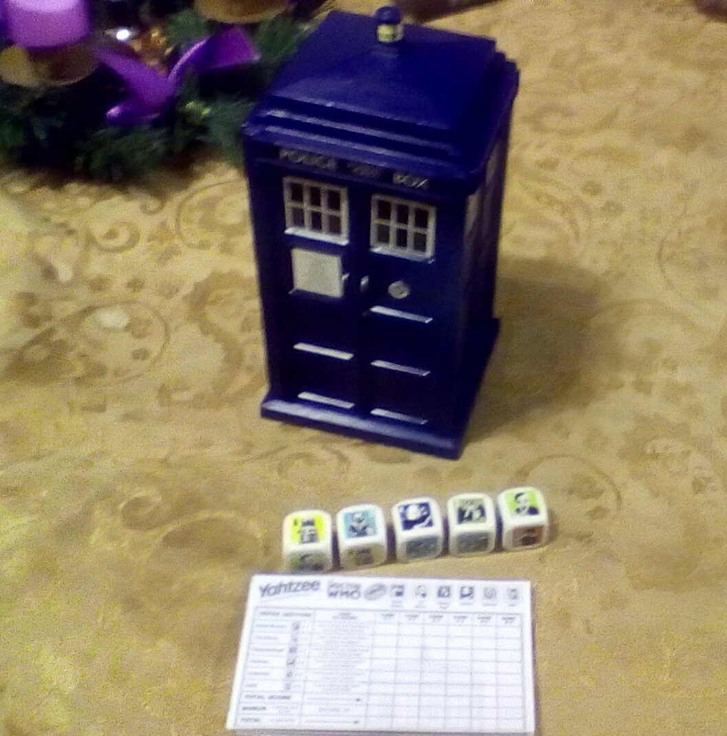 Doctor Who Yahtzee